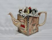 Rare Vintage Cardew Large Moving Day Limited Edition Teapot 1097 Of 5000 New