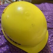 Fibre-metal By Honeywell Roughneck Hard Hat Yellow With Stickers Fed Ex Or Ups