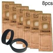 6dust Bags + 2pcs Belts For Kirby G3 G4 G5 G6 G7 Vacuum Cleaner Parts