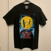 Good Condition Black T-shirt The Nightmare Before Christmas Shipping From Japan