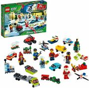 New Lego City Advent Calendar 60268 City Play Mat And Minifigures And Mini Builds