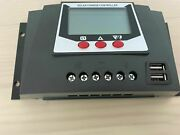 Solar Charge Controller Lcd Display 24v Electric Photovoltaic Panel Power Kits