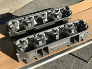 '64 Mopar Max Wedge Stage Iii Cylinder Heads 2406518 Bare Dodge Plymouth 426 518