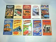 Lionel Lot Of Postwar 10 Eight Track Train Tapes Very Nice O Gauge Trains