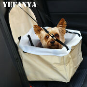 1x Booster Car Seat Auto Pet Dog Cat Carrier Travel Puppy Safety Basket Bag Tote