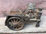 Antique Arcade Cast Iron Avery Steam Tractor Toy
