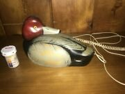 ducks Unlimited Wood Duck Decoy Quacking Phone Just Like Jersey Shore