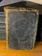 Vtg Mid Century The Holy Bible Holman Pronouncing Edition Leather Zip Cover Vg