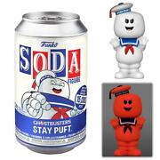 Funko Soda Ghostbusters Stay Puft Marshmallow Man Limited Edition Figure Toy