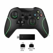 Wireless Controller Dual Motor Vibration Pc Smartphone Gamepad Joystick For Xbox