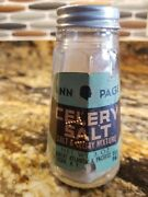 Vintage Ann Page Glass 3 Oz. Celery Salt Paper Label Spice Shaker A And P 1930and039s