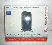 Netgear N600 Wireless Dual Band Router High Performance Working S-33