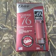 Oster Classic 76 Detachable Blade Clipper With 770010 Blade