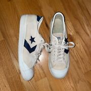 Vintage 1970s Era Converse One Star Made In Usa Size Mens 9.5 Fits 10