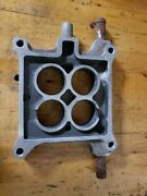 1965 Ford Galaxie 352-390 Carburetor To Intake Manifold Spacer Plate, C5ae-9a589