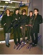 The Bravery + Authentic Rock Autographs, In-person Signed Photo