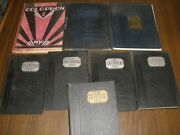 Colophon Blue And White Wyomissing High School Yearbook 1928-1935-you Choose Year