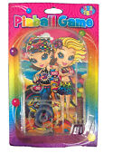 New Package Vintage Lisa Frank Pinball Game Girls At Beach Party Favor Very Rare
