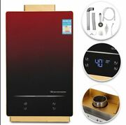 Natural Gas Indoor Tankless Water Heater Touch Screen Led Temp 3.2gpm Parts Only