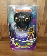 Dreamworks Dragons, Flying Toothless Interactive Dragon Damaged Package