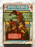 Spaldingand039s Ncaa Football Guide And Rules 1929-jc And Interscholastic Guide Records