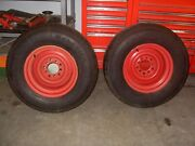 Pair Of Unilug Smoothie Wheels With Tires .