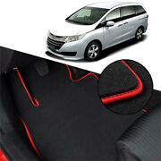 Solid Nylon Auto Odorless Floor Mats Liner Carpet Fitted For Honda Odessey 2015+