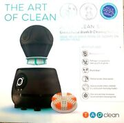 Face Cleans Orbital Facial Brush And Cleansing Station Deep Space Black Electric