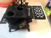 Vinage Small Decirtiave cast Iron Stove With Removable Parts. Salesman Sample