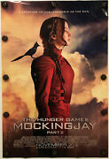 The Hunger Games Mockingjay Part 2 Original 27 X 40 Ds Movie Poster - 2015