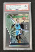 2019-20 Cleary Donruss Ja Morant /25 Green Rc Acetate All Clear Takeoff Psa 9
