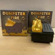 Dumpster Fire Black And Gold Kidrobot Exclusive 2020 100 Soft