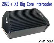 Rpm X3 120hp 2020+ Black Big Core Intercooler Upgrade With Fan R And Rr 195hp+