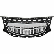 Sport Opc Design Grille Vauxhall Insignia D Year 08-13 Black With Chromblende