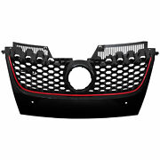 Sports Grill Radiator Grille For Vw Golf 5 Year 03-09 Gti Look Honeycomb Design