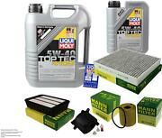Inspection Kit Filter Liqui Moly Oil 6l 5w-40 For Mitsubishi Outlander Ii Cw _w