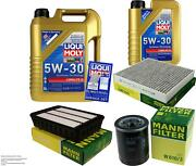 Inspection Kit Filter Liqui Moly Oil 6l 5w-30 For Mitsubishi Outlander Ii Cw _w