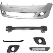 Set Kit Bumper Front For Ford Fiesta 5 V Jh Jd Year 05-10+carrier+accessories