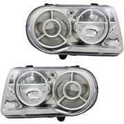 Xenon Headlight Set Left And Right D1s/hb3 For Chrysler 300 C Touring Lx
