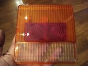 Bmac 343/22 / 343.22 Rear Light Lamp Lens - Old Commercial / Lorry / Coach / Bus