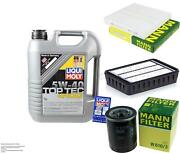 Inspection Kit Filter Liqui Moly Oil 5l 5w-40 For Mitsubishi Outlander Ii Cw _w