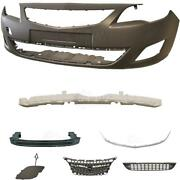 Set Kit Front Bumper+carrier+accessories For Opel Astra J Year