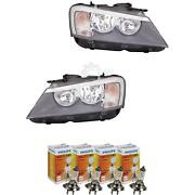 Headlight Set For Bmw X3 F25 Year 10- H7 +h7 Incl. Philips Lamps Hc2