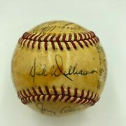 1972 Oakland Aand039s Athletics World Series Champs Team Signed Baseball Jsa Coa