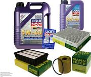 Inspection Kit Filter Liqui Moly Oil 6l 5w-40 For Mitsubishi Outlander Ii Cw _