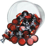 Chris Products - Reflectors - Mini Bulk 40 Tub Red For Every Bikes Product Code