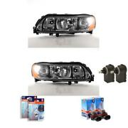 Headlight Set Volvo V70 S 05/04- H7/h9 With Indicator Incl. Mo 57197746