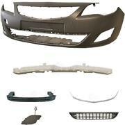 Set Kit Front Bumper+carrier+accessories For Vauxhall Astra J Year