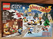 Advent Calendar 2013, Lego City 60024, New In Sealed Box Rare And Retired Set