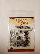 Scrapbooking Made Simple Simply Defined Clear Stamp And Die Sets - You Choose